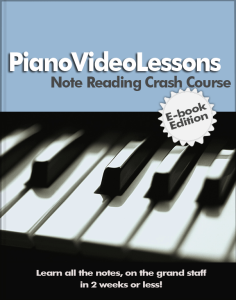 PianoVideoLessons PDF Ebook: Note-Reading-Crash-Course (1)