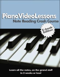 PianoVideoLessons PDF Ebook: Note-Reading-Crash-Course (1)