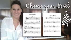 Learn to Play Christmas Carols on Piano, Choose your level