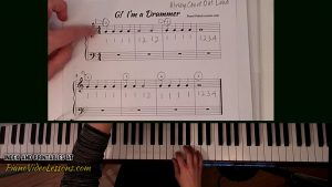 free beginner piano lessons traditional style