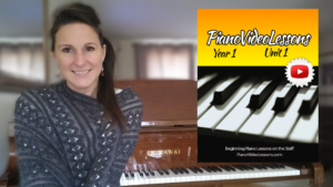 Year 1 - Unit 1 Beginner Piano Lessons
