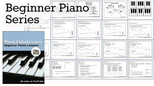 Very first piano lessons beginner