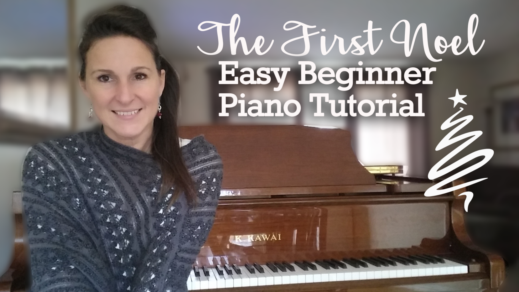How to Play the First Noel for Easy Beginner Piano