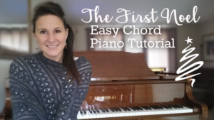 The First Noel Easy Chord Piano Lesson