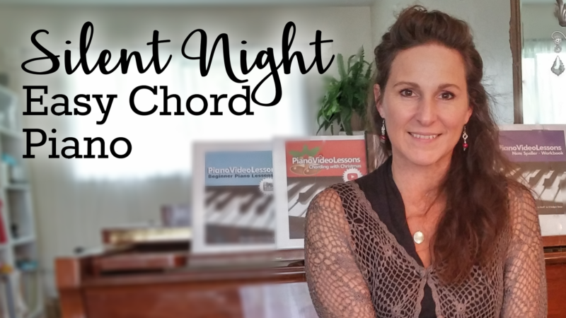 Silent Night Easy Chord Piano Piano Video Lessons Courses