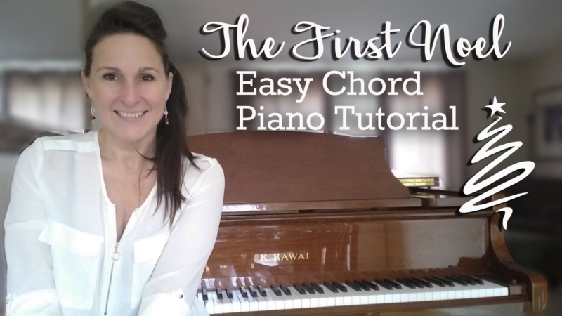 The First Noel Easy Chord Piano Piano Video Lessons Courses
