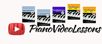 pianovideolessons beginner piano lessons sheet music