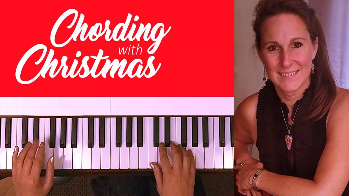 Learn to play chord style christmas songs on piano