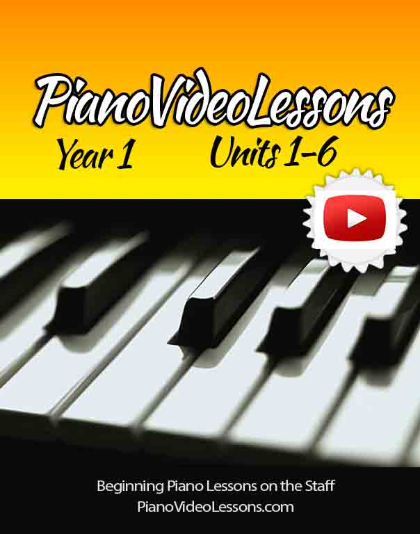 YEAR 1: Free Piano Lessons Overview | Piano Video Lessons