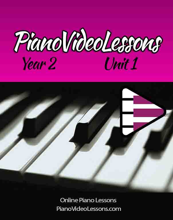 Piano Video Lessons - Grade 1 Piano Technique and Etudes
