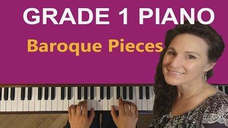 Grade 1 Piano Baroque Repertoire
